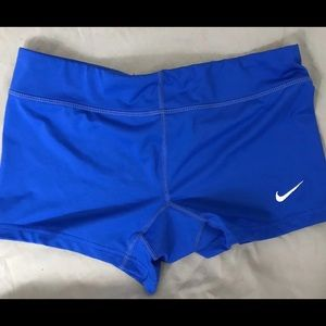 NIKE DR-Fit Royal Blue Activewear Shorts SMAL